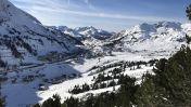 Wintersport skigebied Obertauern