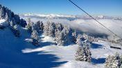 Wintersport skigebied Chamrousse