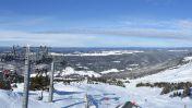 Wintersport skigebied Monts Jura