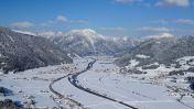Het dal van St. Johann in Tirol