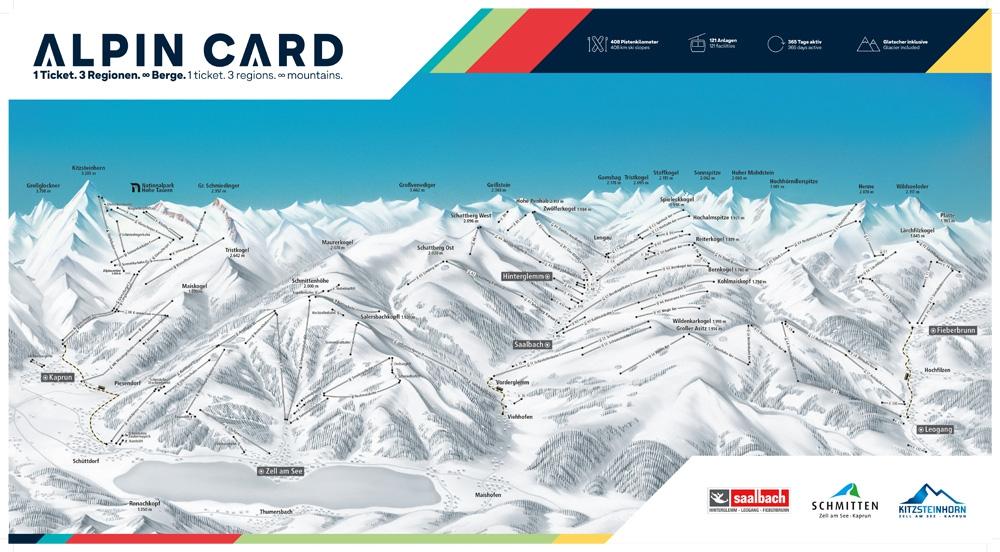 Alpincard Saalbach Zell am see