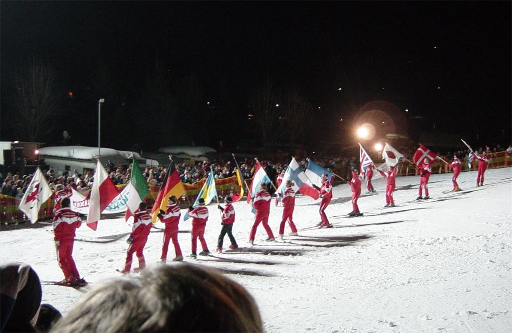 Avondshow in Brixen im Thale