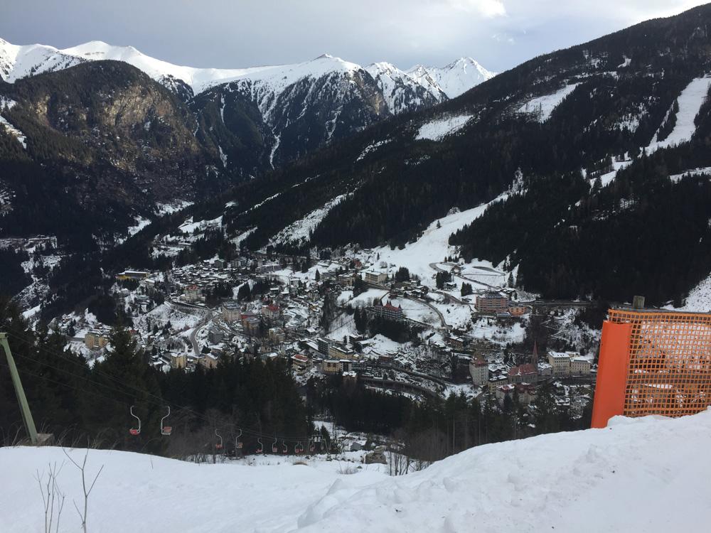 Uitzicht op Bad Hofgastein