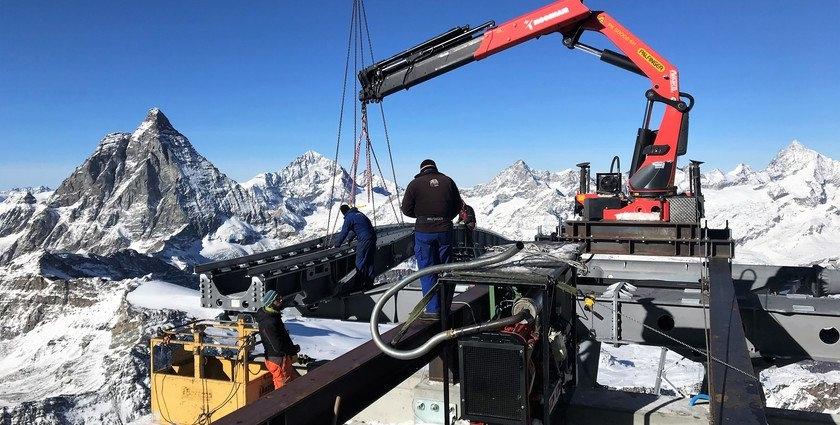 Constructie bergstation