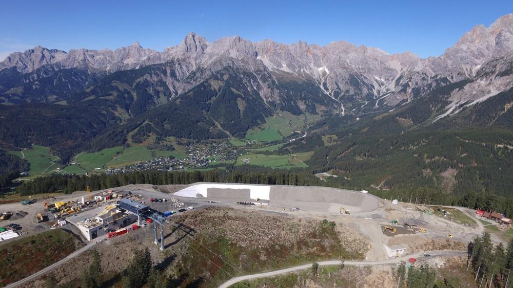 De bouw van de Gabuhelbahn - 31 oktober 2019