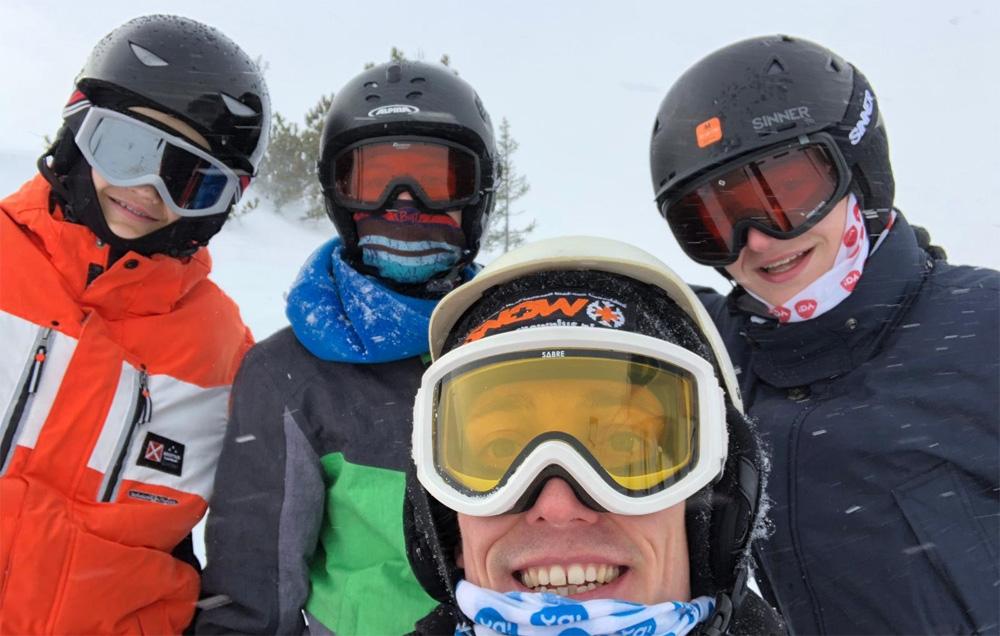 De klas van Snow+