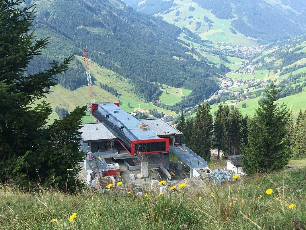 Kohlmaisbahn mittelstation