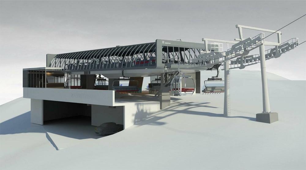 Nieuwe lift Brixen