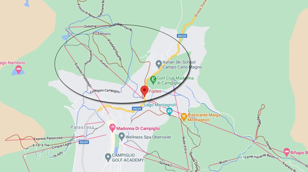 Locatie Fortini Express