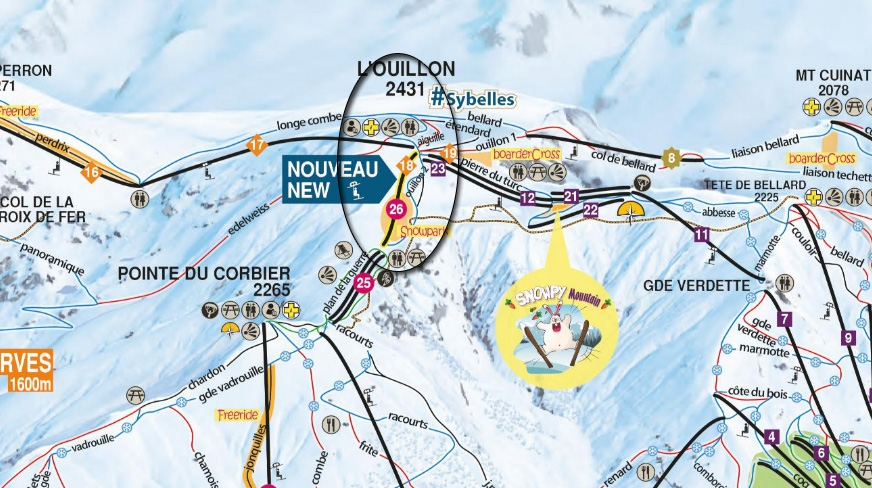 Locatie Gaston Express - sector Ouillon