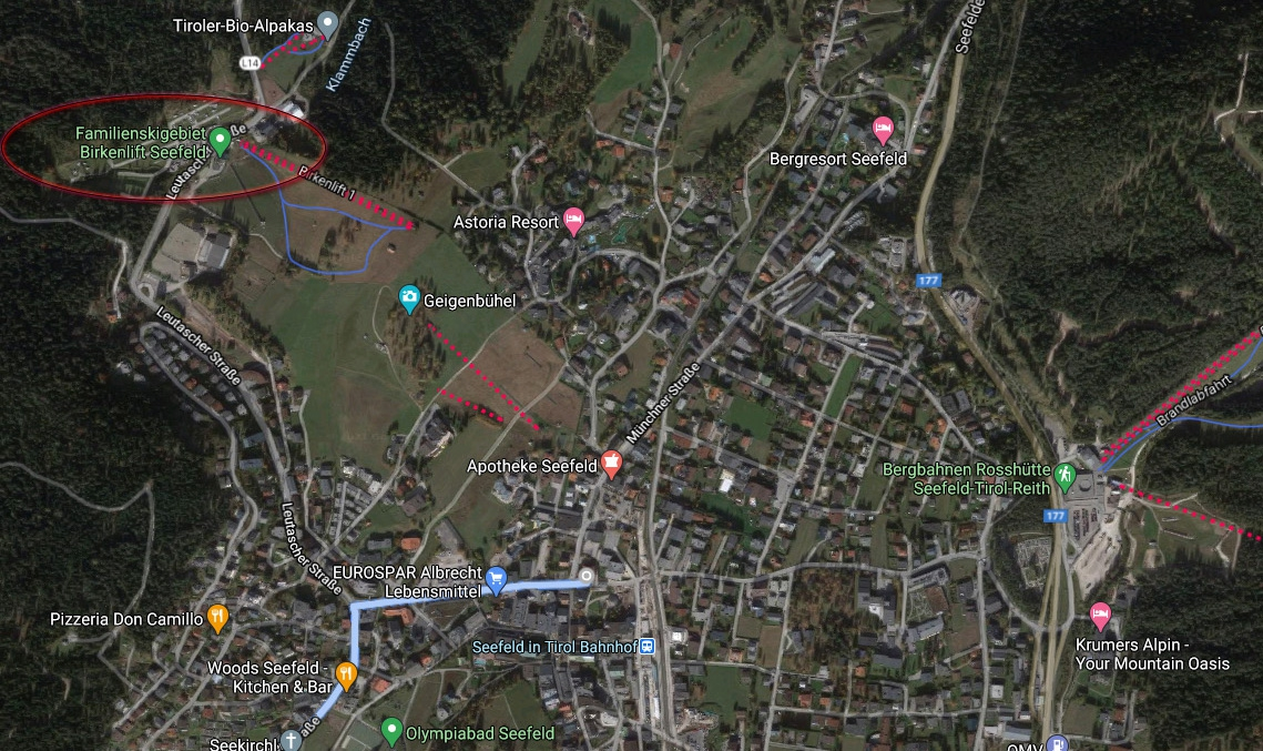 Locatie Park Seefeld