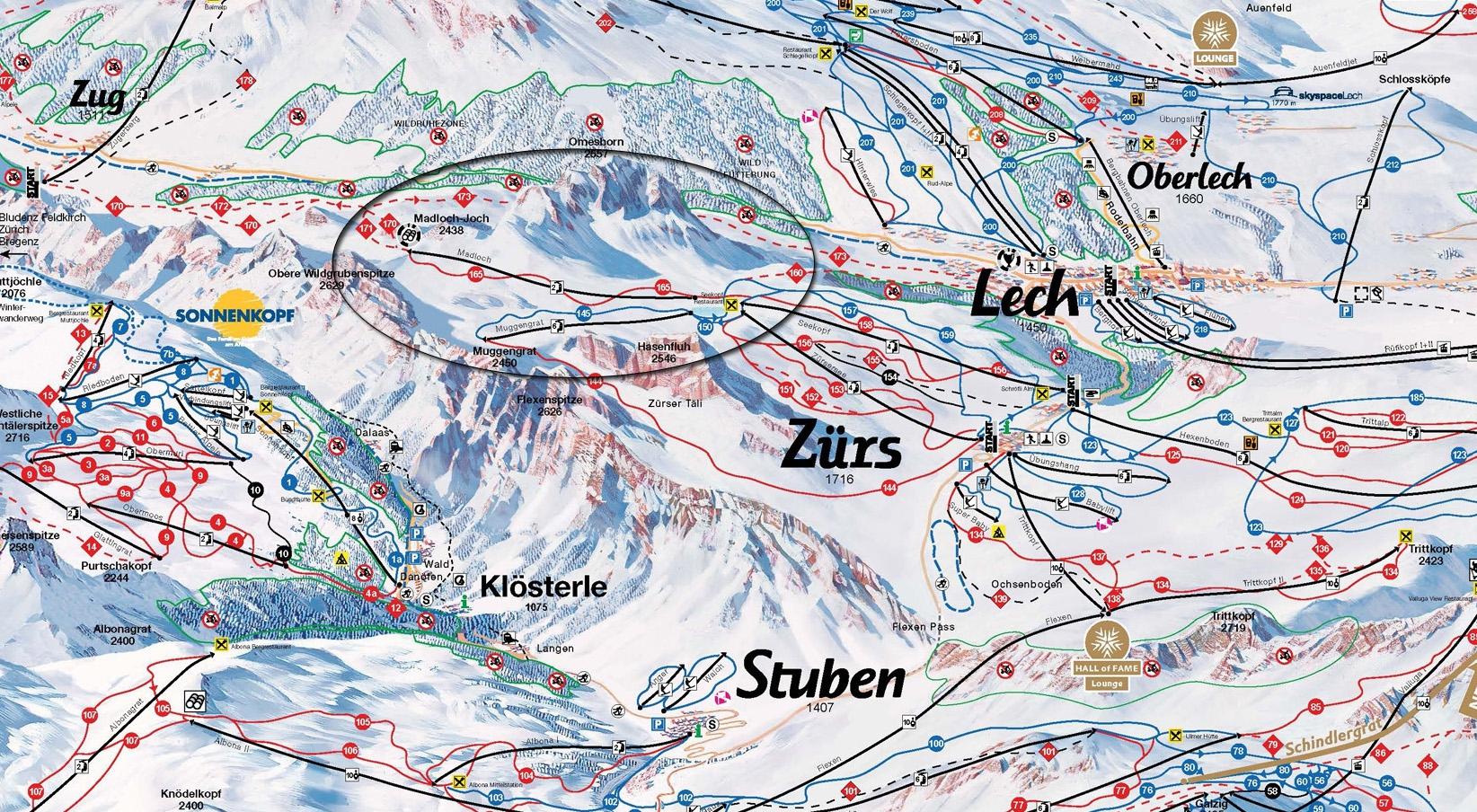 Locatie nieuwe Madlochtbahn