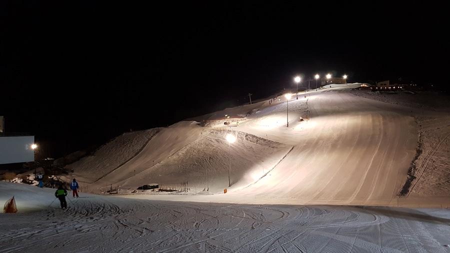 Nachtskiën in Söll