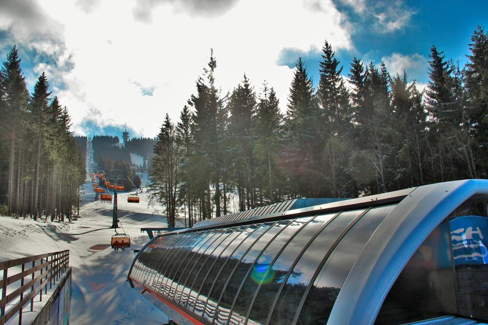 Novy Skiareal Klinovec-Fichtelberg