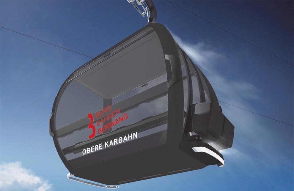 Obere Karbahn - Nieuwe 10 persoonsgondel