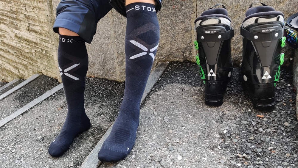 Op pad met Stox Energy Sock