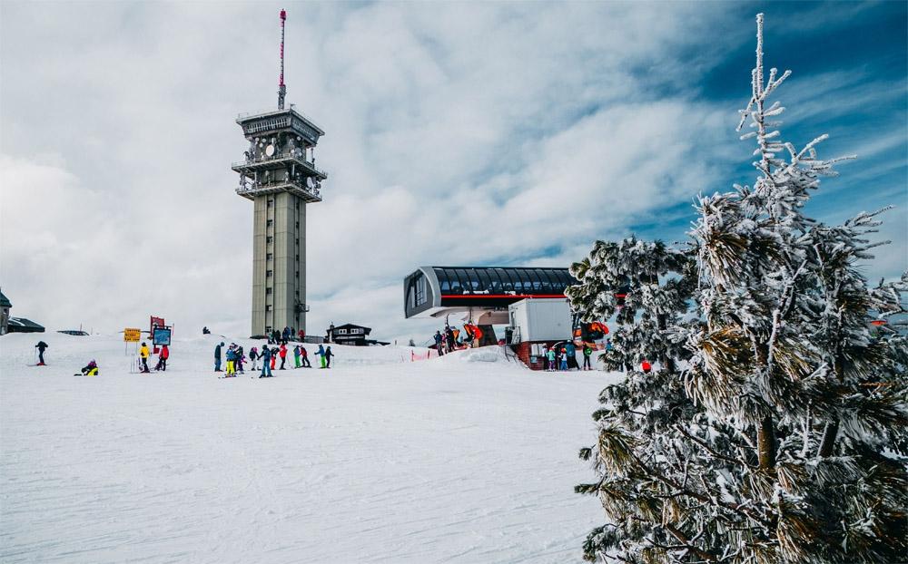 Skiareal Klínovec