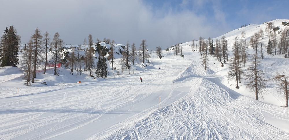 Skien in Nassfeld