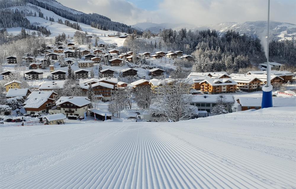 Skiën tot aan de deur
