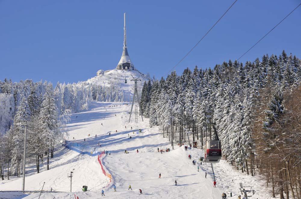 Skigebied Ještědu