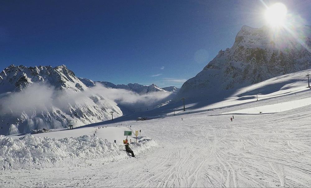 Skigebied van Gargellen
