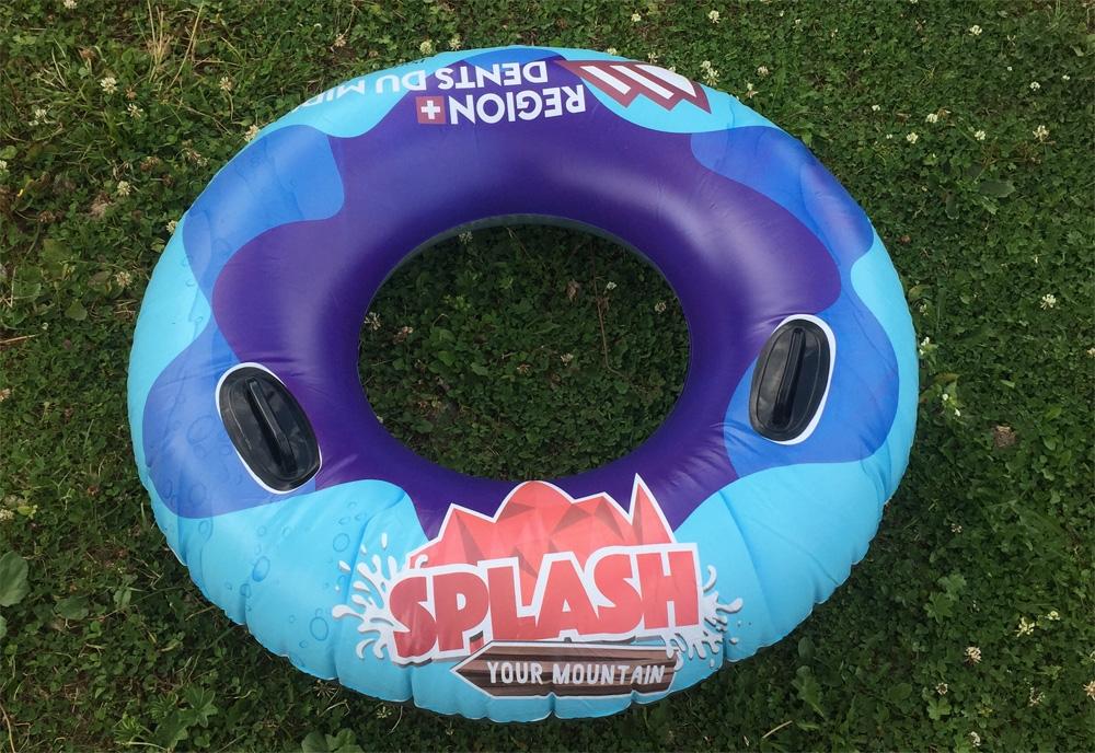 Splash your Mountain Tube