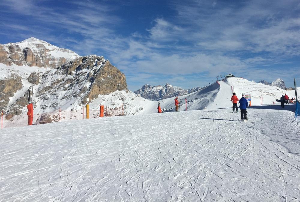 Uitzicht vanaf Col dei Rossi
