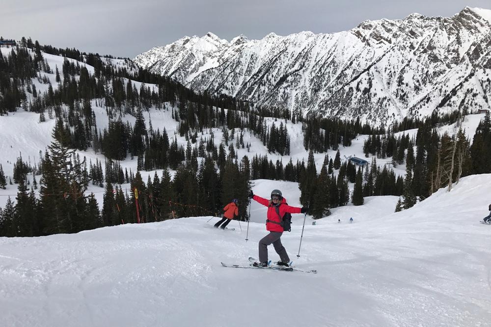 Wintersport Snowbord