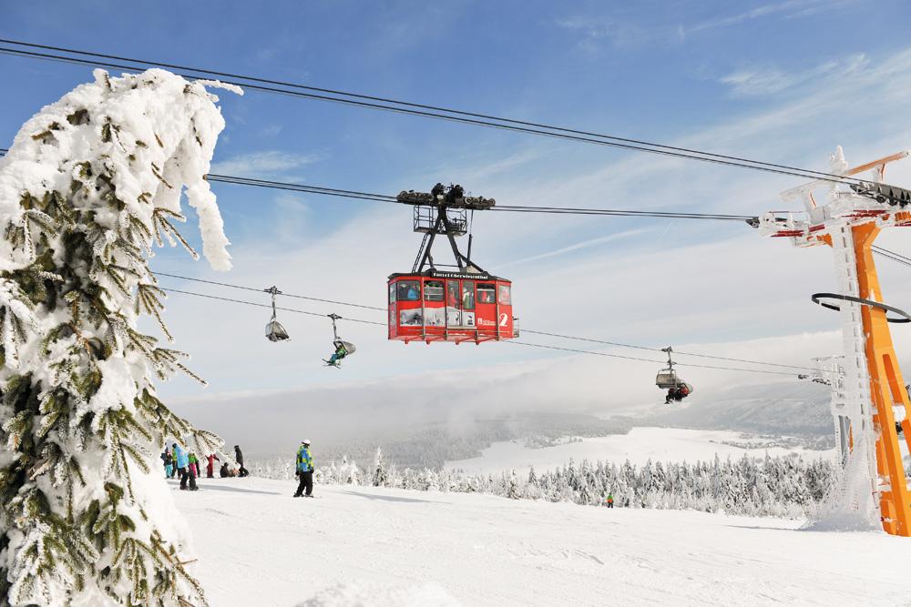 Wintersport in Fichtelberg. Foto: Sandro Lindner