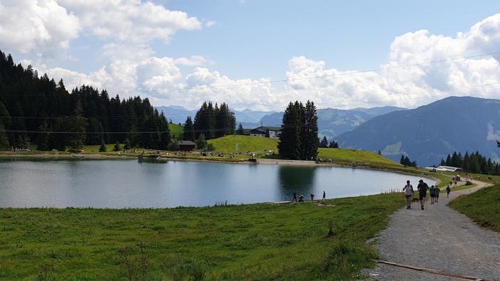 Zomervakantie in de Alpen