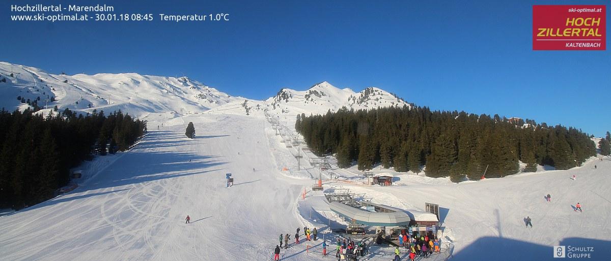Marendalm - Hochzillertal, 1600 meter
